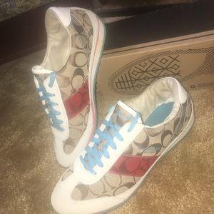 Coach casual tennis shoes